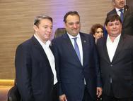 Paulo Vale, Patriolino Dias e George Lima