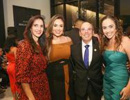 Dalma Carvalho, Renata Abrel, Andr� Montenegro e Luana Marques