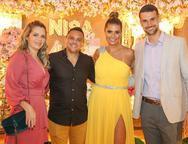 Elida Sousa, Edson Freitas, Anelisa e Dimas Barreira