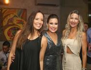 Giselle Bezerra, Cibele Campos e Carmen Rangel