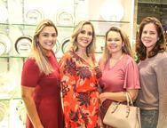 Nara Carneiro, Isabel Macambira Nicole Rangel e Renata Gurgel