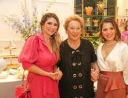 Nathália da Escóssia, Noélia de Melo e Ticiana Rosado