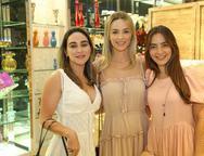 Ana Aguiar, Tarcia Ferreira e Lara Romcy