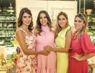 Flávia Simões, Nathália Ximenes, Tayra Romcy e Nathália da Escóssia