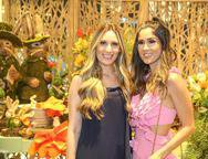 Monique Sales e Manuela de Castro
